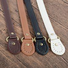 DIY Replacement Round Ears Shoulder Straps Leather Handbag Handle Detachable Straps Bags Accessories