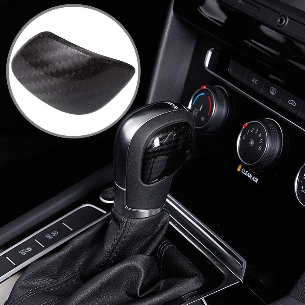 Pegatinas DSG para panel de perilla de caja de cambios 3D para Volkswagen Jetta Polo Golf MK4 MK5 MK6 MK7 Passat B5 B6 B8 R