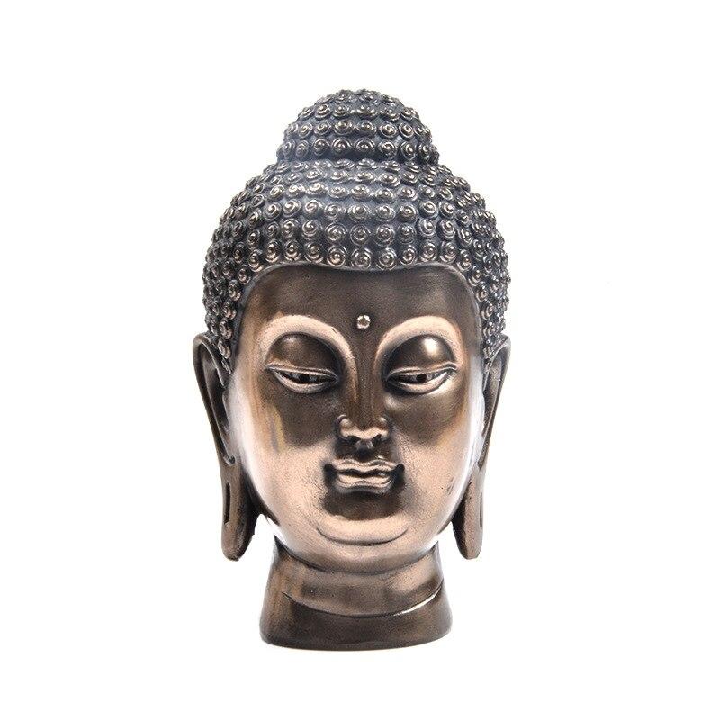 Fengshui buda estátua zen casa decoração trazer paz saudável e tranquila remover o mal-12.5 cm * 4.5cm * 4.5cm