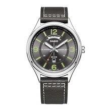 Casio Watch Top Brand Quartz Gold Wrist Watches Men fashion Casual 100% original watch Relogio Masculino MTP-E129 Leather Belt