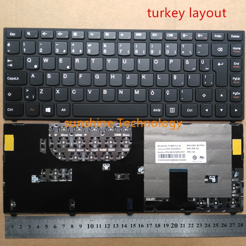 Клавиатура для ноутбука lenovo, ультрабук, Yoga 13, ISE ITH IFI