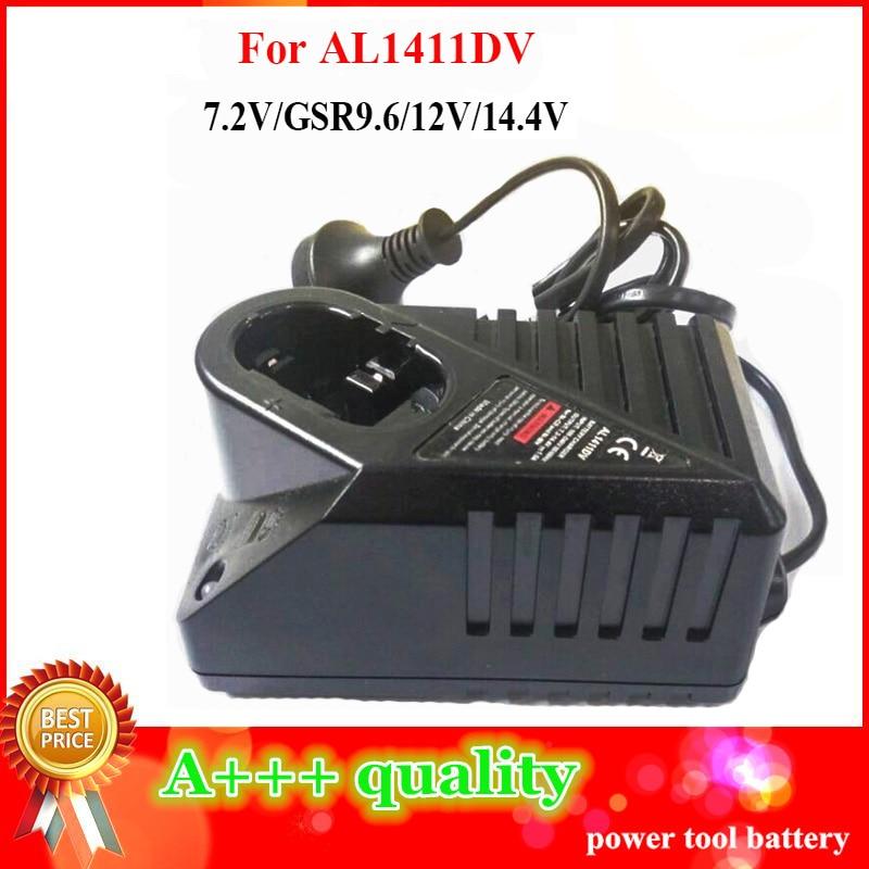 Replacement AL1411DV Ni-CD/MH Battery Charger For Bosch 7.2V 9.6V 12V 14.4V Battery PSR 14.4V GSR12 GSR14.4 Electrical Drill