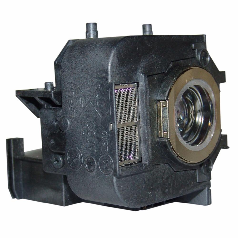 ل ELP50 لإبسون EB-826 H356A PowerLite 84 84 + EB-825H EB-84H EB-84e EMP-825H 180 أيام الضمان