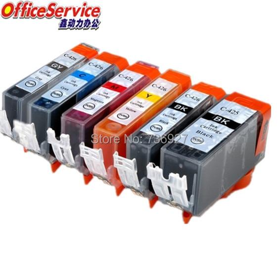 PGI-425 PGI 425 PGI425 CLI-426 cli426 Kompatibel tinte Patrone Für Canon PIXMA MG6140 MG6240 MG8140 MG8240 drucker