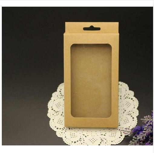 صندوق ورق كرافت للبيع بالتجزئة ، صندوق ورقي للتغليف ، ملحقات علبة الهاتف المحمول