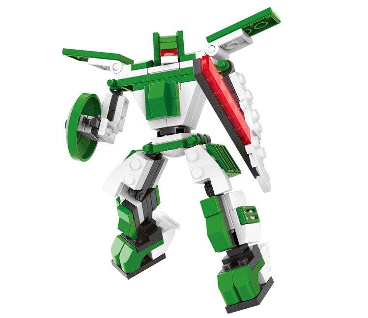 Bloques de construcción DIY Robots Juguetes Brontosaurus modelo niños bloques educativos compatibles Chirlren juguetes 110 piezas