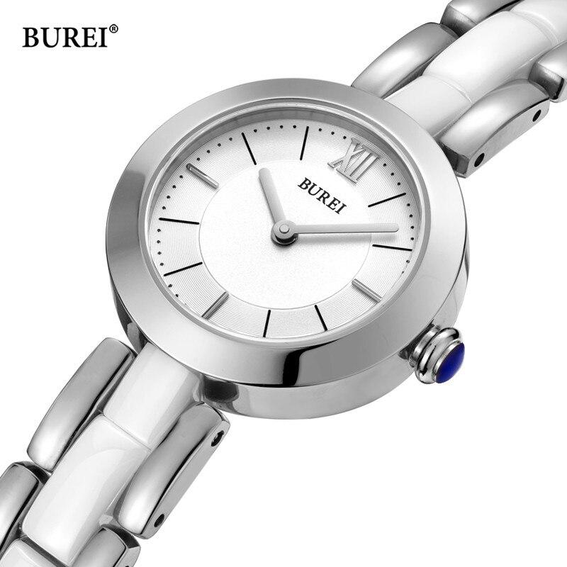 BUREI Brand Lady Fashion Silver Rose Gold Watch Woman Luxury Waterproof Sapphire Casual Quartz Wristwatch Relogio Feminino 2021 enlarge