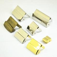 30pcs Silver Gold Antique Bronze Metal Suspenders Adjust Buckles Craft Clips Garment Accessories 10mm 20mm 25mm 30mm 35mm 40mm