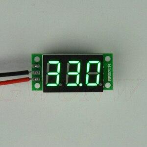 GWUNW BY336V {Two line} DC 3,3-30,0 V (30V) 3 Бит 0,36 дюймов цифровой вольтметр Панель Измеритель Красный Синий Зеленый Желтый тестер напряжения