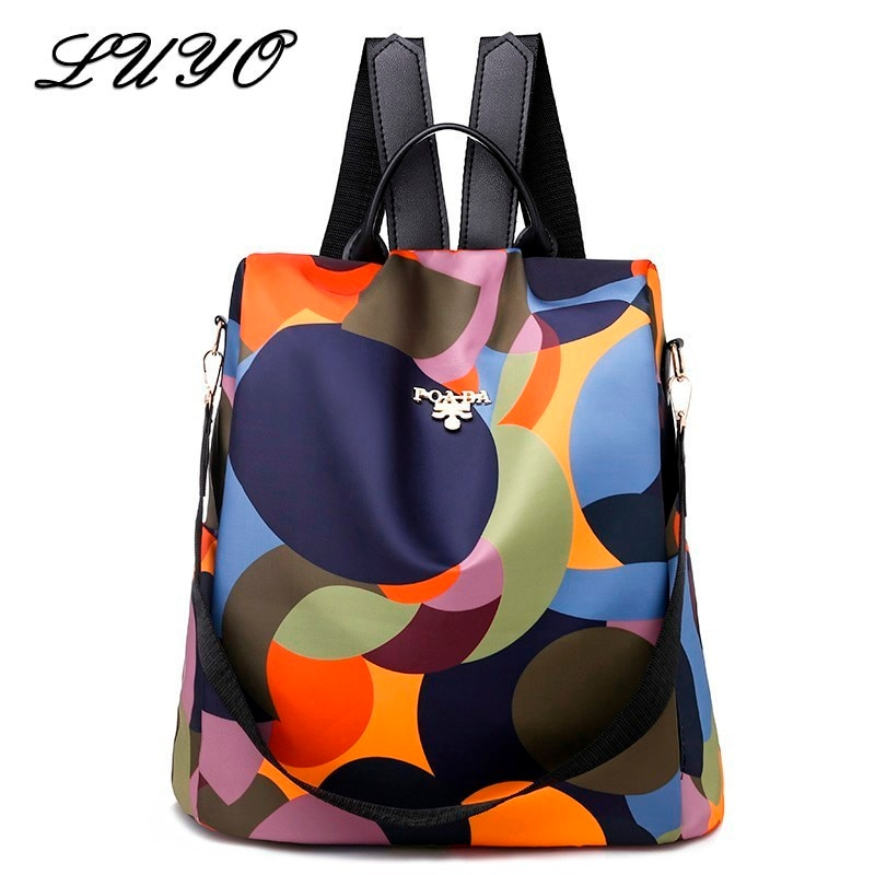 High Quality Waterproof Oxford Women Backpack Fashion Anti-theft Backpacks Ladies Large Capacity Travel Mochilas