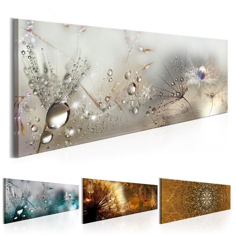 Dandelion lienzo pintura naturaleza abstracta carteles e impresiones fotos antiguas para sala de estar dormitorio Cuadros decoración salón
