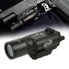 500 Lumens High Output Tactical X300 Pistol Gun Light Weapon light Lanterna Airsoft Flashlight Fit 20mm Picatinny Weaver Rail