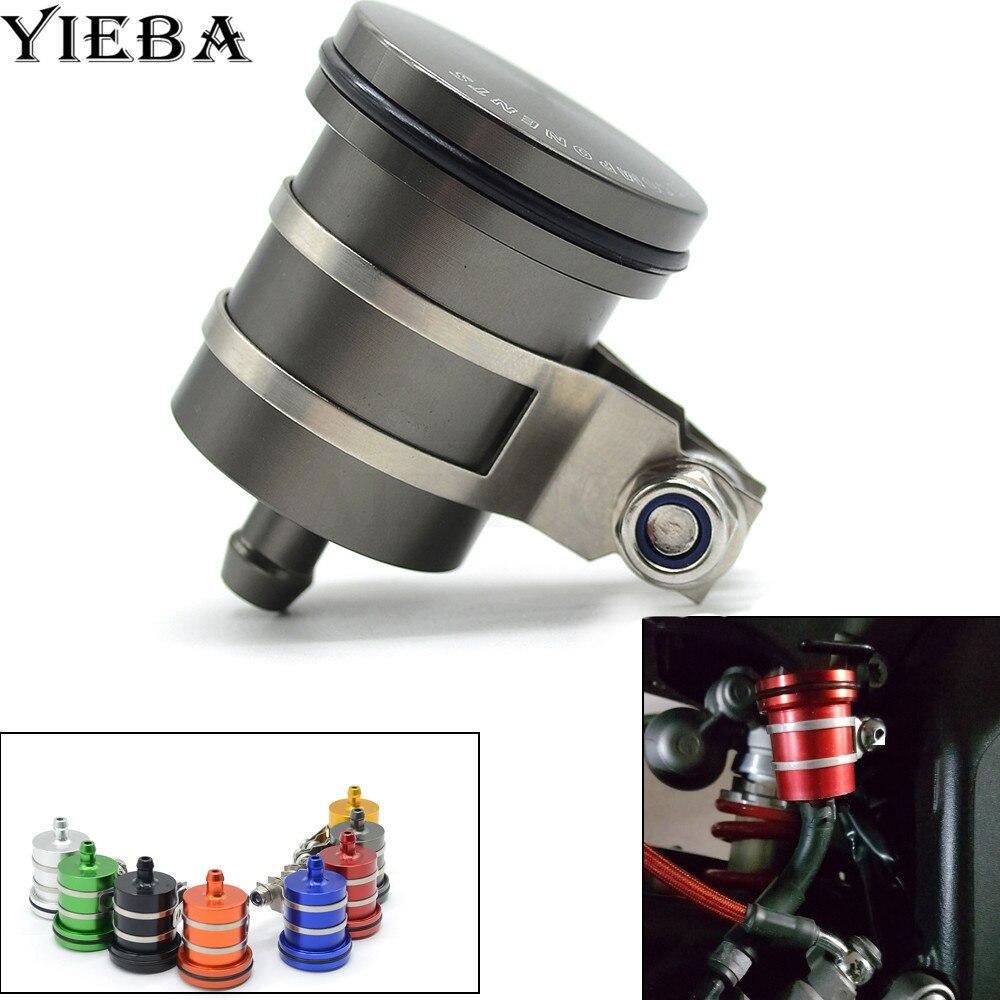 Universal Motorcycle Brake Fluid Reservoir Clutch Tank Oil Fluid Cup For r1 yamaha mt 07 mt09 r1200gs mt10 mt03 yfz r6 r3
