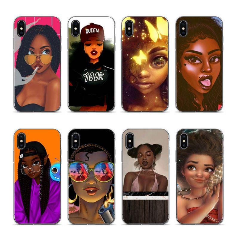 Funda Aiboduo de moda negra para iphone 7 plus para iphone X XR XS MAX 7 plus 8 8plus 5 5s 6 6 6plus coque TPU
