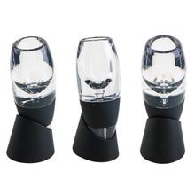 Mini filtro aireador de vino tinto, decantador mágico aireador rápido de vino esencial, juego de filtros de vino esencial