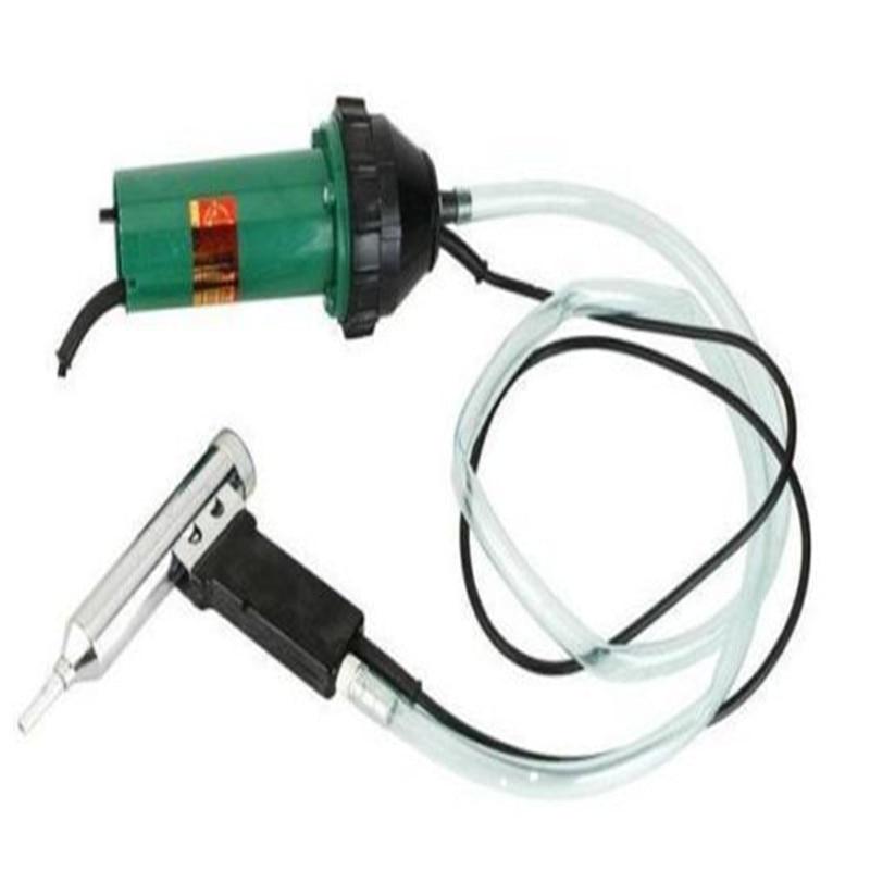 Pistola térmica de soldar de plástico de 1000W y 220 V, pistola soldadora de aire caliente, equipo profesional de aire caliente, antorcha de explosión para soldadura de techo de PVC HDPE
