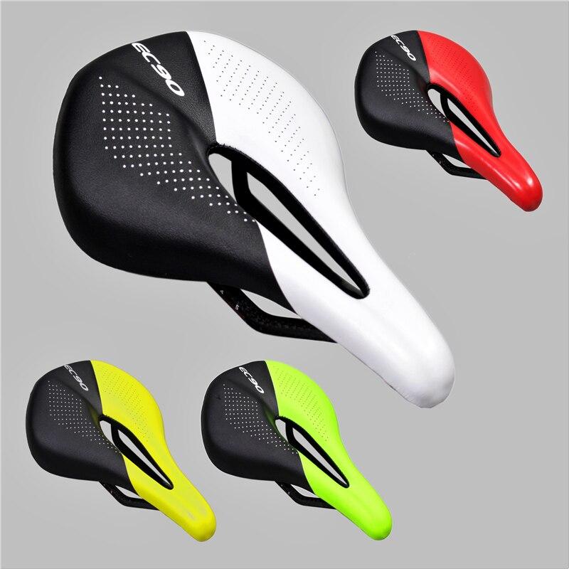 EC90 Carbon Fiber Saddle Road Bike saddle Lightweight Seat Cycling Parts Bike Saddle 150-155g carbon saddle