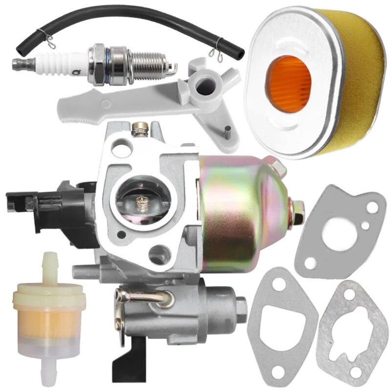 9 unids/set Kit carburador para Honda GX160 5.5HP GX200 motor filtro de aire bujía