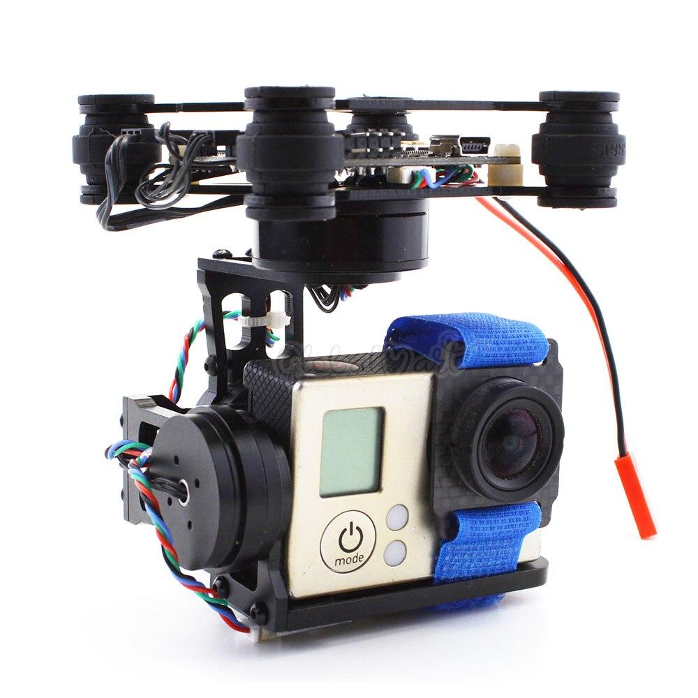 3 Axis Brushless Gimbal Frame W/ 2204 260KV & 2805 140KV Motor & Storm32 Controller for Gopro 3 4 Gopro Hero 5 6 session FPV RTF