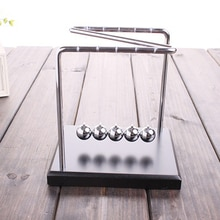 Newton berceau physique pendule Science z-type bois Newton berceau Art en mouvement Balance boule vague bureau ornement éducatif T