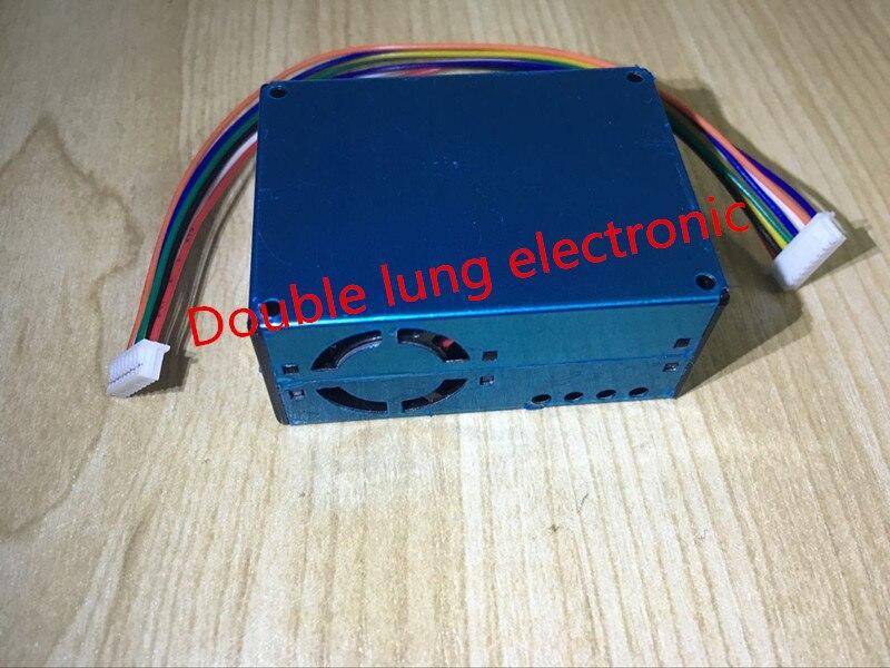 5 uds PLANTOWER laser PM2.5 partícula de aire/detector de polvo + sensor de formaldehído electroquímico dos en uno G5S/PMS5003S/PMS5005S