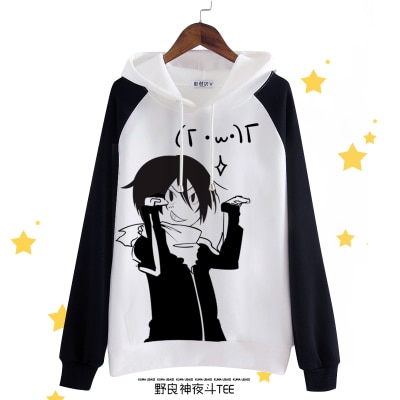 Anime Noragami cosplay autumn winter new Japanese hooded sweater casual fashion cute sweet Shiba Inu student anime hoodie