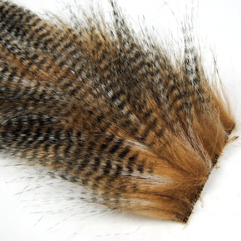 Wifreo 2 сумки 5 см X 12 см мухозавязывание Furabou Grizzly цвет ремесло мех волокно для стримера хвост крыло Материал средний размер