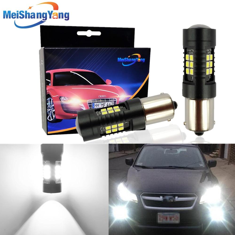 Автомобильные фары 1156 P21W LED BA15S P21/5W BAU15S 1157 BAY15D, светодиодные лампы, сигнальные фонари заднего хода, стоп-сигналы 3030 LED s 12V 24V, автомобильная лам...
