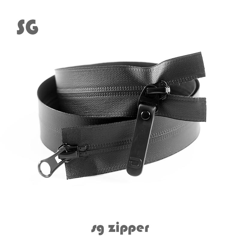 5-way two-way pull head open waterproof down garment ski outdoor sports   tent zipper 70cm-80cm