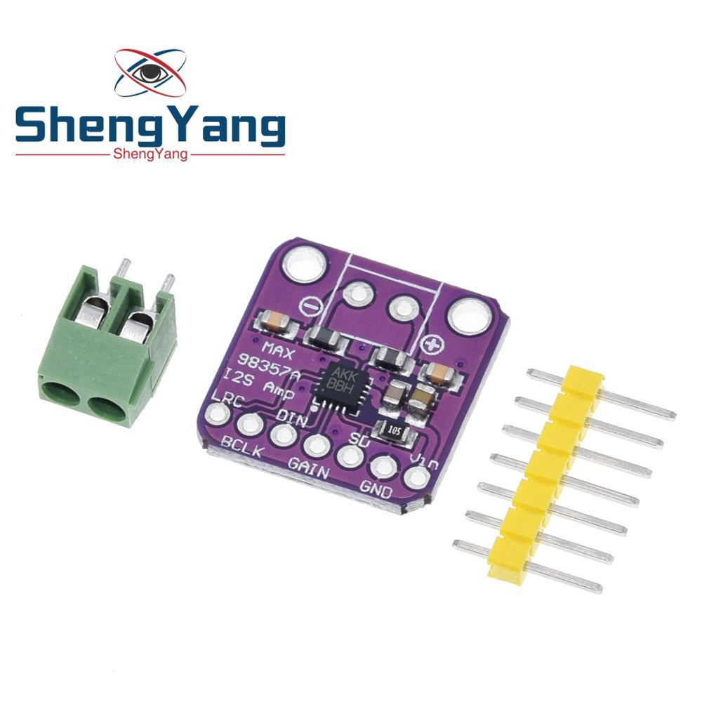 ShengYang Max98357 3w Class D Amplifier Breakout Interface I2s Dac Decoder Module Filterless Audio Board For Raspberry Pi Esp32