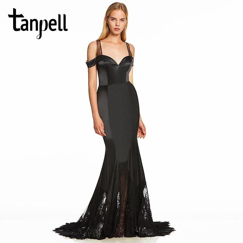 فستان سهرة برباط طويل رسمي للنساء