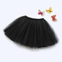 Jupe Tutu élastique pour bébés filles   Tenue princesse de danse, en Tulle, 11 couleurs de bonbons, pour bal