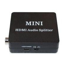 Конвертер HDMI аудио сплиттер HDMI в HDMI SPDIF L/R аудио видео экстрактор конвертер с usb кабелем