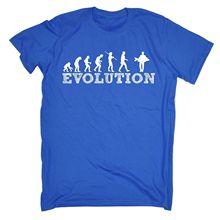 Homme Evolution carpe drôle blague pêche Fisher bateau voyage mer profonde T-shirt classique hauts t-shirts vêtements T Shirt