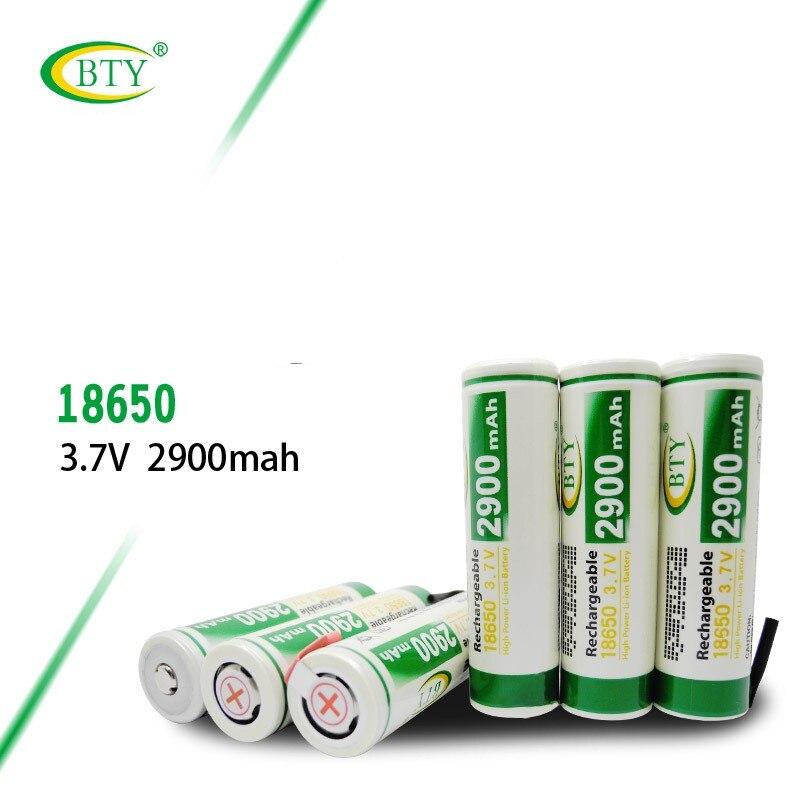 BTY 18650 3,7 v 2900 mah 18650 Lithium INR 18650 29E 2900 mAh 3,7 V, máxima descarga, batería recargable 10A