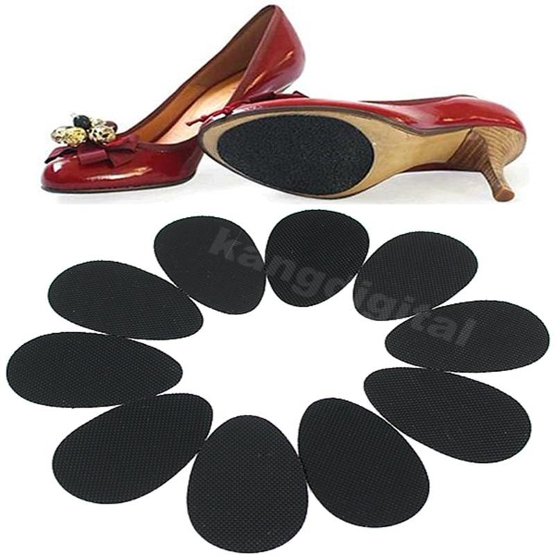 5 Pairs Anti-Slip Shoes Heel Sole Grip Protector Non-Slip CushionPads New