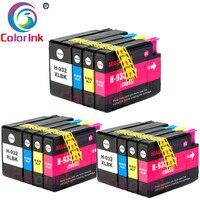ColorInk 932 933 Ink Cartridge for HP932 932XL 933XL HP Officejet 6100 6600 6700 7110 7610 7612 7510 7512 printer