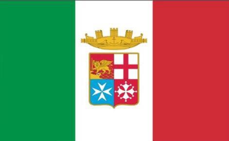 3ft x 5ft itália Bandeira Naval Da Bandeira de Poliéster Bandeira do Vôo 150*90 centímetros bandeira Personalizada ao ar livre