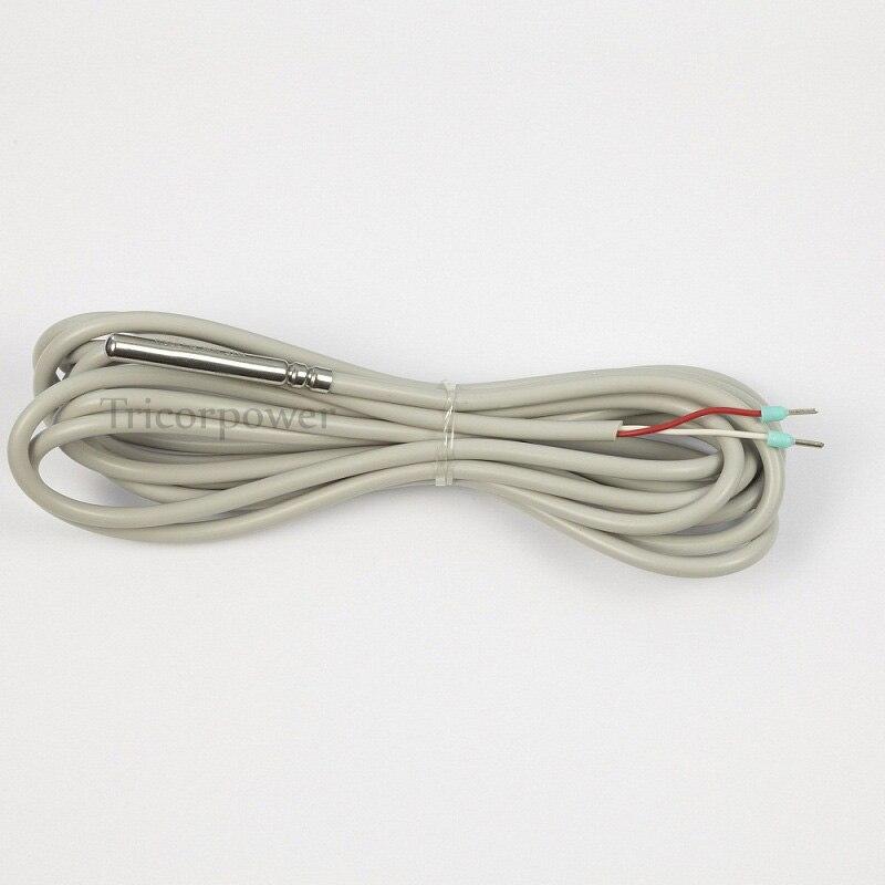 Capteur de température NTC10K 3 mètres, capteur haute précision B = 3950 pour réservoir et tuyau