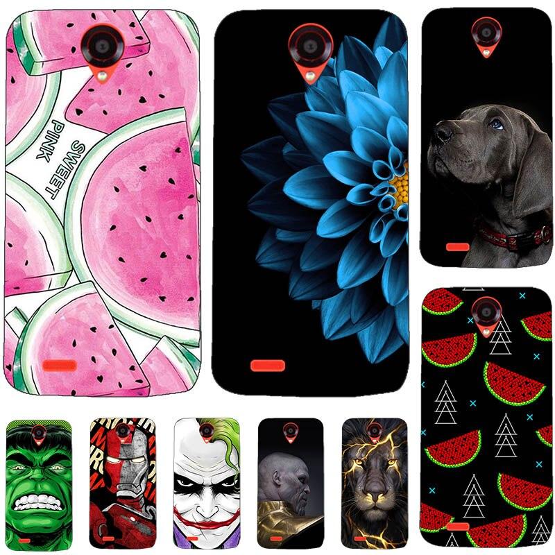 """Милый модный силиконовый чехол для телефона Lenovo Z5S, 6,3-дюймовый чехол с принтом """"Кокос"""", задняя крышка для телефона Funda Lenovo Z5 L78011"""