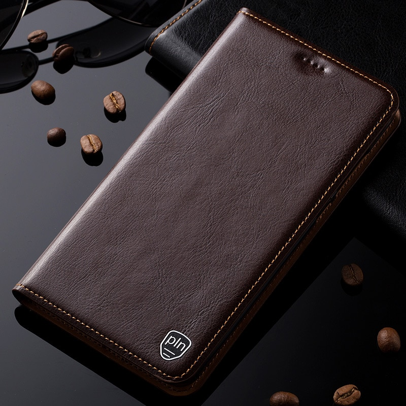 Чехол из натуральной кожи для Xiaomi Redmi Note 7 7A 8 8T 8A K20 K30 Pro/Mi 9T Pro с магнитной подставкой, откидной карман для карт, чехол для телефона