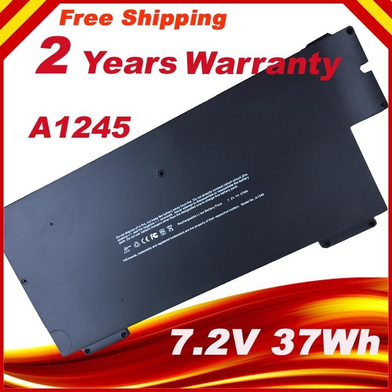 "7,4 V batería del ordenador portátil para Apple A1237 A1245 para MacBook Air 13 ""A1304 MB003 MC233 MC234 Z0FS serie"