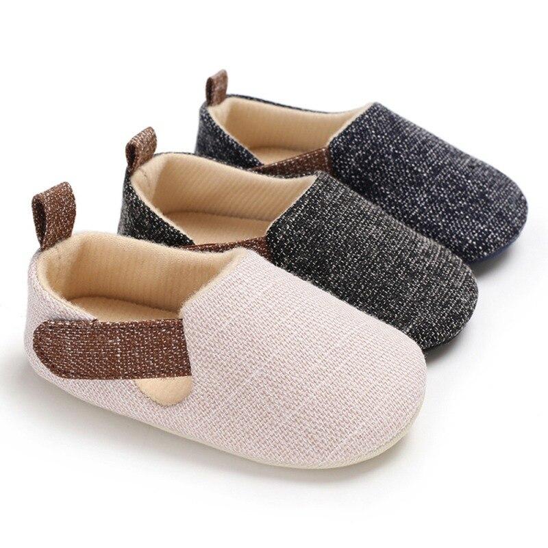 Chaussures de nouveau-né garçon   Chaussures pour premiers marcheurs à semelle souple antidérapante pour filles tout-petits, offre spéciale pour 0-18M