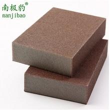 Éponge de mélamine magique Emery haute densité   5 pièces/lot pour nettoyage, éponge de cuisine ménagère qui enlève la rouille 100*70*25mm