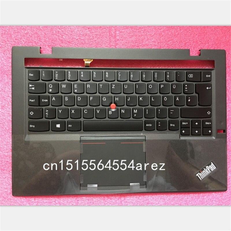 New and Original laptop Lenovo ThinkPad X1 CARBON 2nd Gen TYPE 20A7 20A8 Palmrest cover German Deutsch Tastatur KeyBoard 04X6574