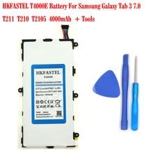 HKFASTEL New Original T4000E Battery For Samsung Galaxy Tab 3 7.0/T211/T210/T2105 4000mAh Free tools