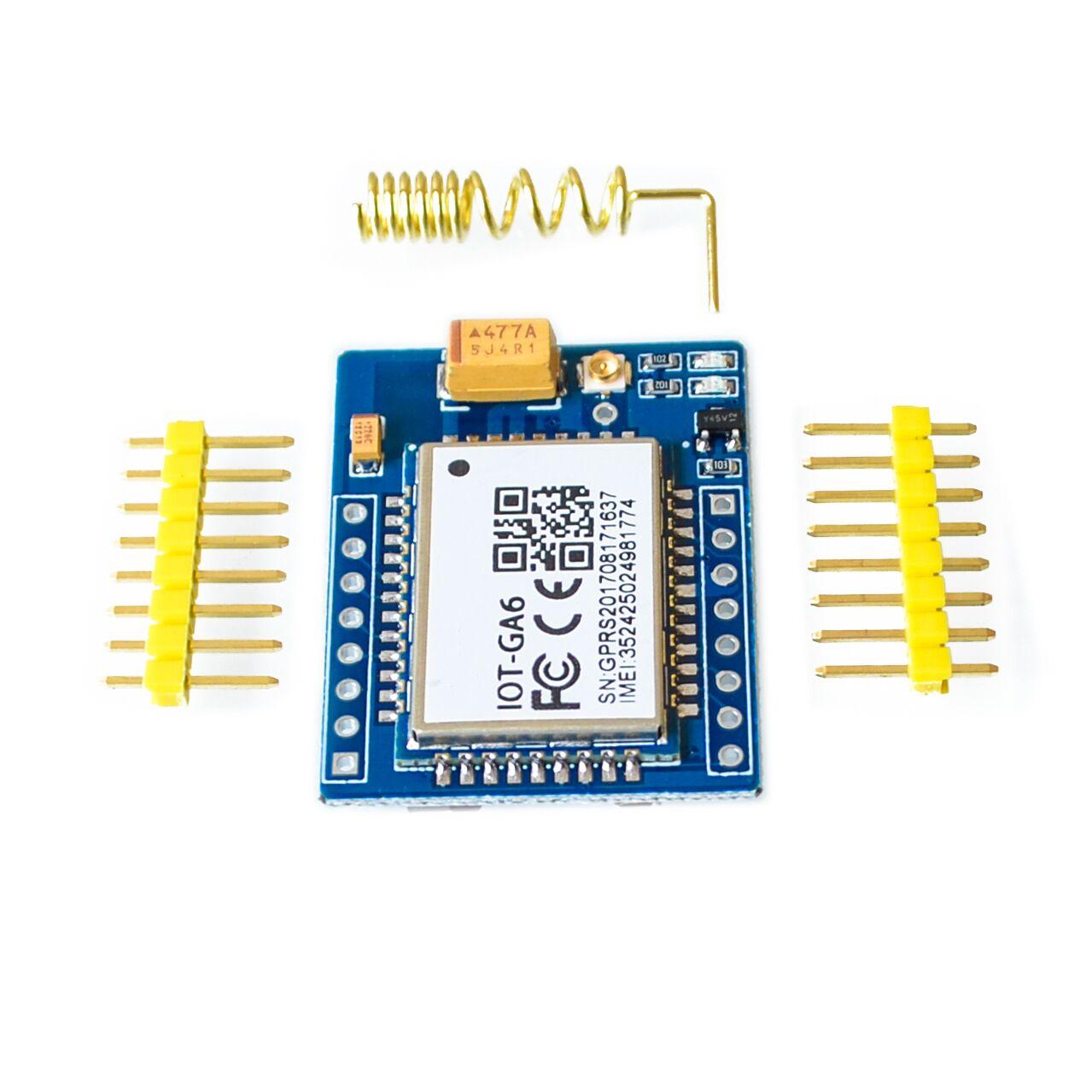 Мини A6 GA6 GA6B GPRS комплект GSM беспроводной модуль расширения плата антенна протестирована по всему миру магазин для SIM800L