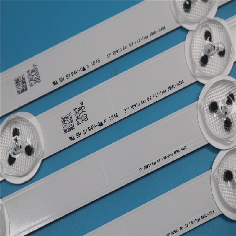 LED Backlight For LG 37LC370DXG-JFR1 (SF)(JF) 37LN5400-ZA 37LN5403-ZA backligh 6916L-1137A 6916L-1138A 6916L-1139A 6916L-1140A
