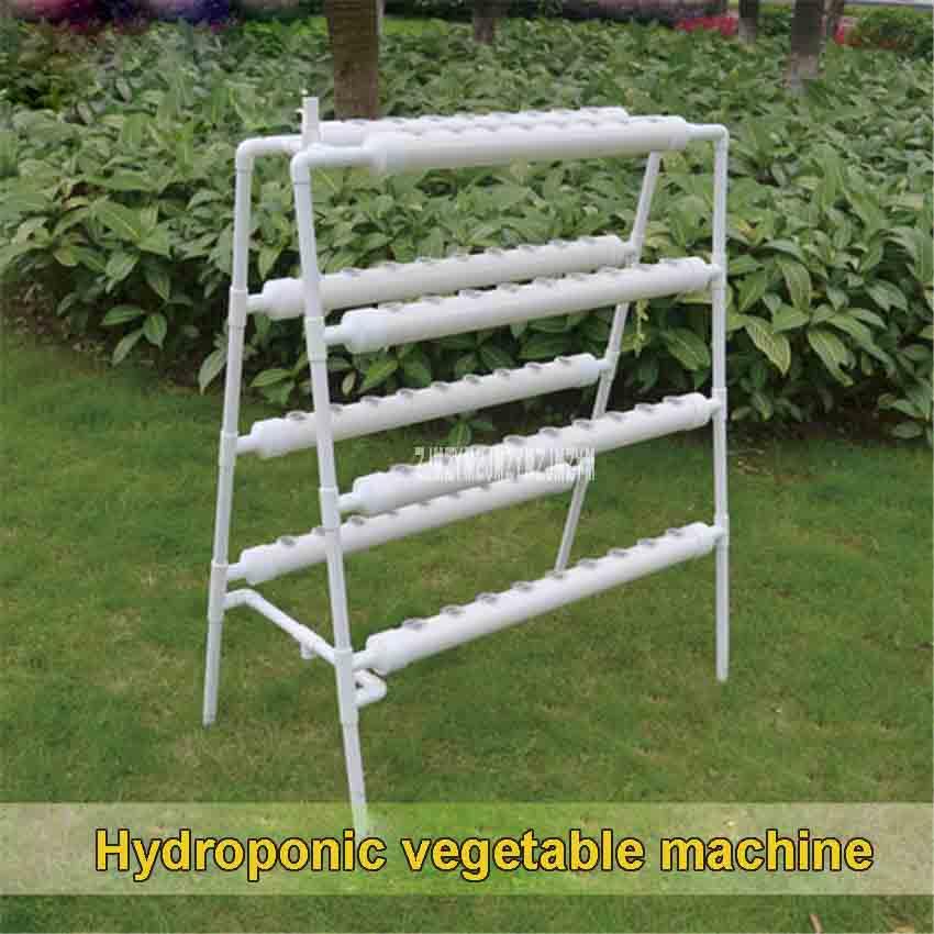 Nouveau légume hydroponique Double face huit tubes hors sol équipement de culture balcon tridimensionnel en couches fleur cadre