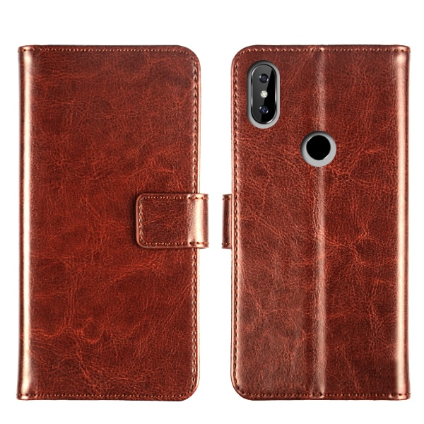Pierves Flip PU Leather  Wallet Cover Phone Case  For Oukitel C8 C9 C12 C13 C15 C16 C17 Pro K8 U17 U18 Y4800